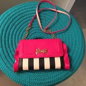 Betsey Johnson Clutch or Cross Body purse, bag